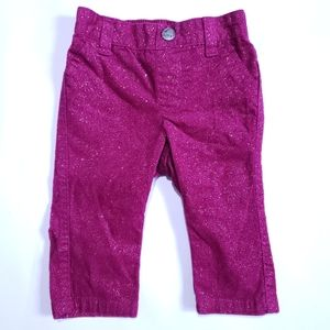 3-6M Sparkly Pink Pants Old Navy